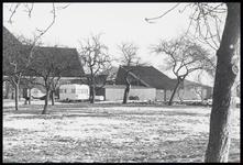 WAT003003874 Zijkant van de stolpboerderij met schuren aan de Westerweg nummer 21.