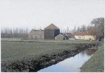 WAT003003890 Purmerland nummer 1 boerderij met dubbele koestal en hooihuis.Bouwjaar circa 1920.