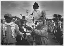 WAT003004015 Intocht Sinterklaas.Sint: Arie Roeleveld.