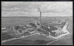 WAT003004400 Wormer Zaandammerpad later Zaandammerstraat Koninklijke Fabrieken Van Gelder Koninklijke Papierfabriek de ...