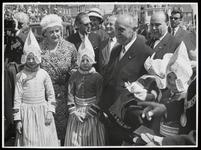 WAT003006158 Oostenrijks president dr. A. Schärf bezoekt Holland en m.n. de Zuiderzeewewerken
