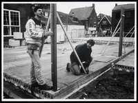 WAT003006215 Leerling bouwvakkers Jos en Johan