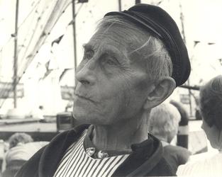 WAT006003513 Gerrit Schilder (Gerrit Snert), vissersknecht, geboren op 12-06-1901 te Volendam, overleden op 03-09-1991 ...