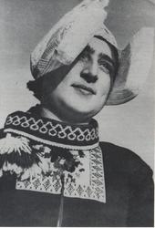 WAT006004081 Maartje Schokker (Maartje van Janneman), geboren op 25-10-1898 te Volendam, overleden op 05-03-1954 te ...