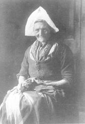 WAT006004147 Welmoet van Vlaanderen, geboren op 16-06-1833 te Volendam, overleden op 09-05-1913 te Volendam op 79 ...