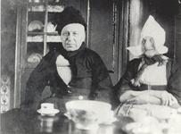 WAT006004469 Cornelis de Boer (Korn), visser, schipper VD 28, geboren op 22-05-1883 te Volendam, overleden op ...