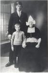WAT006004877 Gerrit Veerman van Tuis, geboren 27-02-1899, overleden 27-05-1932 te Volendam, zwaar gewond door een sabel ...