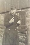 WAT006003565 Kees Bond 'De Ouwe Mu', geboren 05-07-1876, overleden 1957. Zoon van Pieter Bond (Kanepiet) en Neeltje ...