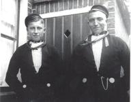 WAT006003724 Jan de Boer (Jentje van de Korn), vissersknecht, geboren op 25-04-1920 te Volendam, overleden op ...