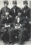 WAT006003887 Boer. Jan, Jaap, Dirk, Kees, Hendrik de BoerVlnr. Boven:•Jan de Boer (De Modderman), visser, geboren op ...