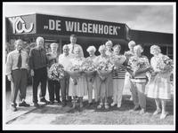 WAT003006350 Zwembad De Wilgenhoek, gebouwd in 1955. Na een brand in juni 2011 is het zwembad geheel afgebroken. Het ...