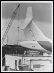 WAT003006848 Vliegtuig restaurant storm schade