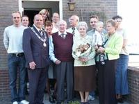 WAT120000575 Baers. Nico xAnnie de Lange 60 jaar getrouwd. NIVO 2005.