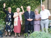 WAT120000639 Gezin. (E693E)Henk Groot x Gretha Honing 40 jaar getrouwd.