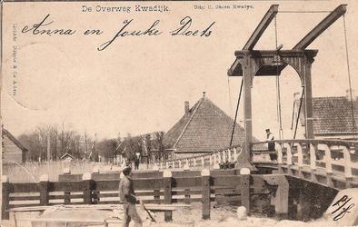 WAT120001348 OQ D0005 - Houten basculebrug over Purmerringvaart.