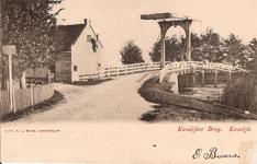 WAT120001344 Brugwachtershuis bij Purmerbrug