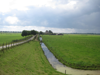 WAT120003309 Hoek Ringdijk - Blijweg (gaat later over in de Westerweg)