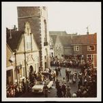 WAT050001250 Aankomst Sinterklaas. Uitzending van de ontvangst (door Mies Bouman) op de Nederlandse en Belgische tv. ...
