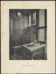 WAT051001705 Interieur van het Edams Museum, achterkamer