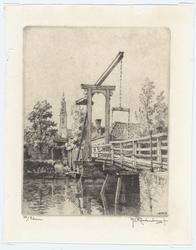 WAT053000002 Stadsgezicht: Kwakelbrug met de Speeltoren op de achtergrond