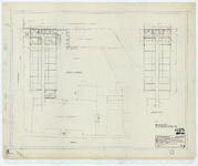 WAT054000221 Plattegronden van de begane grond en verdieping van uitbreiding Avondzon . Blad 7