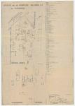 WAT054000242 Situatie kantoor en fabriek met nummering der lokalen van de Koninklijke Hollandia N.V.. Nr. 07/206-1/5