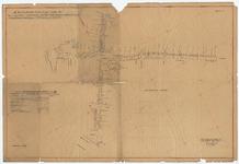 WAT055000023 Plattegrond van de Peperstraat, Breestraat, Hoogstraat, Padjedijk en Dubbele Buurt in Purmerend, met de ...