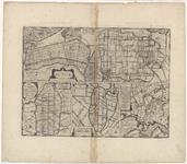 WAT055000029 Plattegronden van de Zijpe, de Beemster, de Purmer, de Wormer en Waterland op de zogenaamde vijfpolderkaart