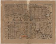 WAT055000032 Plattegronden van de Zijpe, de Beemster, de Purmer, de Wormer en Waterland op een blad, de zogenaamde ...