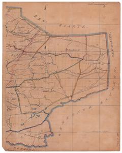 19224-14.2 Diepenveen 2 Kaart van het oostelijk deel van de gemeente Diepenveen met rondom de gemeenten Gorssel, ...