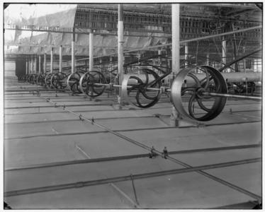 3802 FDSTORK-6572 Diversen. Opname van drijfwerk bij H.P. Gelderman & Zn, Oldenzaal., 1918-00-00