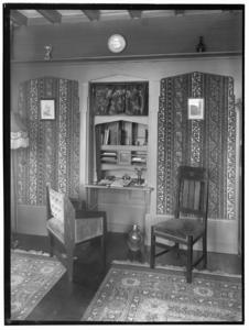 8764 FDSTORK-5874 Diversen. Interieur van de villa van de heer Strumpfler aan de Grundellaan., 1921-00-00