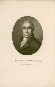 17 -3 Portret van Jacobus Kantelaar. , 1822