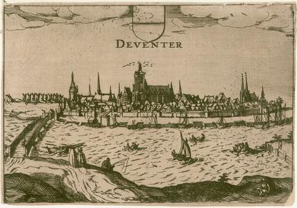 2 -11 Gezicht op Deventer., 1600