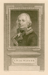 2 -18 Portret van J.W. de Winter, 1700