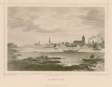 2 -6 Gezicht op Kampen, 1800