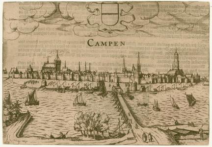 2 -7 Gezicht op Kampen, 1600