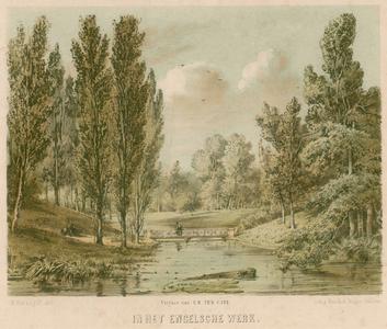 3 -10 Afbeelding van park Het Engelse Werk bij Zwolle., 1880