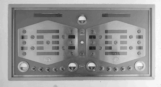 4386 FDHEEMAF052284 Bedieningspaneel voor sluis Limmel in het Julianakanaal bij Maastricht, 1935-08-08