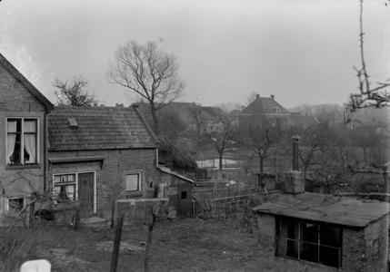 117 Wijhe: Opname van huizen in het dorp., 1941-02-12