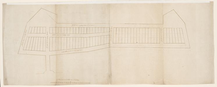 1263-KD000045 [Zonder titel]Ontwerptekeningen voor de uitbreiding van de stad Zwolle ten noorden van de Dijk met een ...