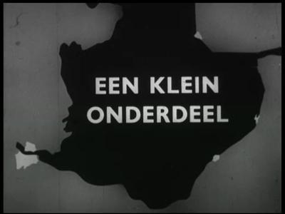 10593 BB02835 Bedrijfsfilm van Heemaf en Stork in Hengelo.Bouw van de 3 pompgemalen in Flevoland.Fabricage van de ...