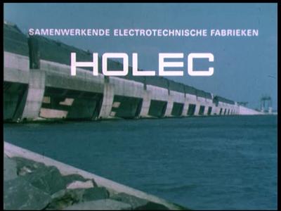 10889 BB02843 Bedrijfsfilm van HOLECEen caleidoscoop van bedrijven worden voorgesteld.Beelden van kunstwerken in ...