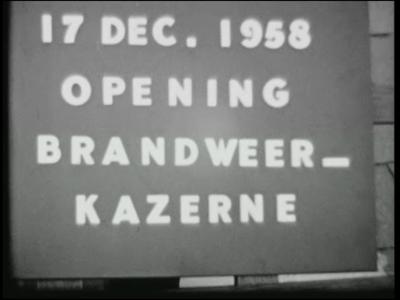 11200 BB02343 Reportage over diverse gebeurtenissen in Bathmen:Opening van de brandweerkazerne op 17 december ...