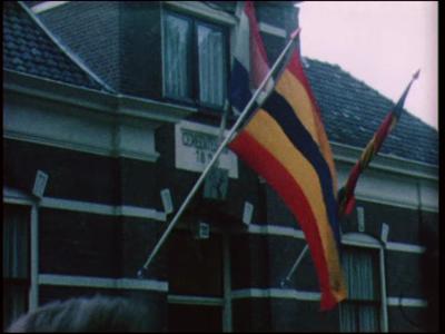 11545 BB02925 Een film rondom de opening van het nieuwe raadhuis van de gemeente Hellendoorn te Nijverdal., 1969-10-22