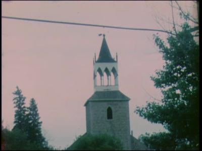11550 BB02930 Een film met in de eerste helft beelden vanuit het Canadese Winnipeg, en in de tweede helft een feest met ...