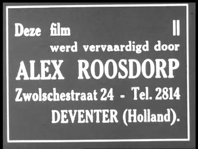11853 BB02414 Dorpsimpressie van Diepenveen in het begin van de 30-jaren.Vertoning van treinstation, wetering, ...