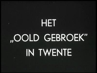 12127 BB01870B Tweede deel van een documentaire over volksgebruiken in Twente, vanaf het voorjaar tot oudejaarsavond, ...