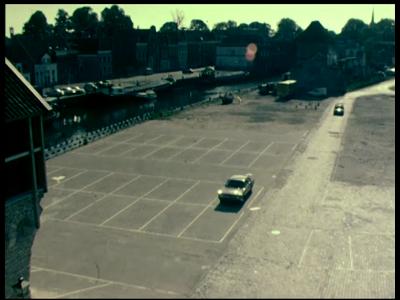 12775 BB01940 Een film met beelden van de werkzaamheden aan de oude E8 en het nieuwe traject van de A1, en de start van ...