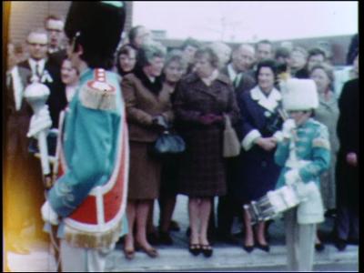 12791 BB02489 Een film rondom de opening van het Bachplein te Zwolle, opgeluisterd door diverse muziekkorpsen.